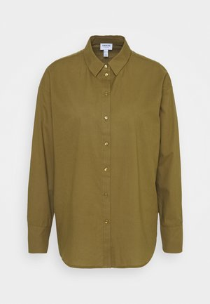 Button-down blouse - fir green