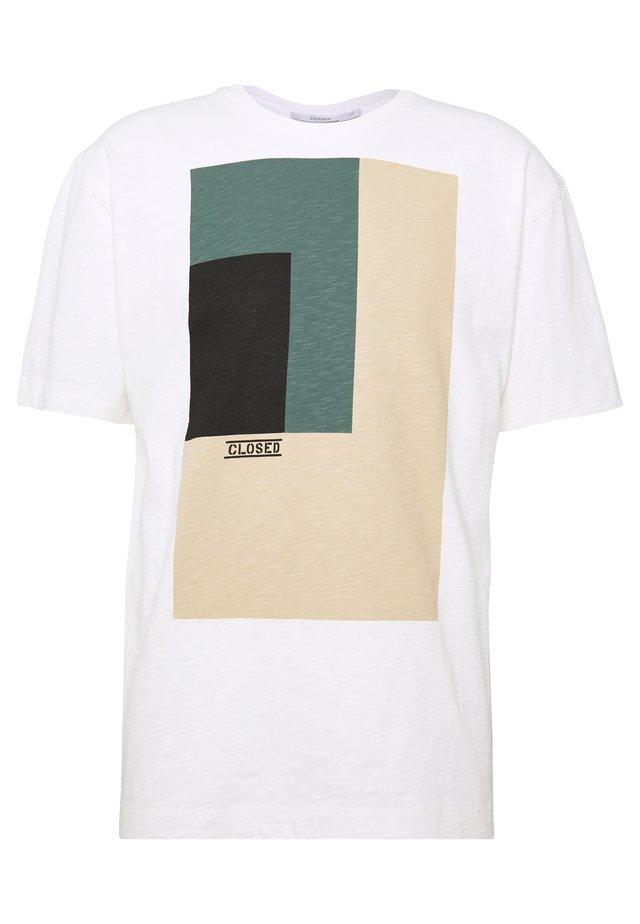 MEN´S - T-shirt imprimé - ivory