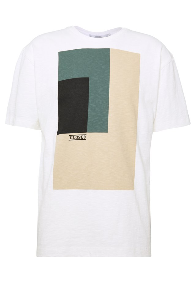 MEN´S - T-shirt z nadrukiem - ivory