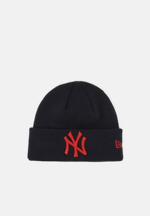 BABY LEAGUE ESSENTIAL CUFF UNISEX - Beanie - black/red