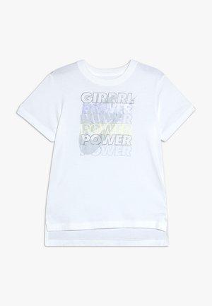 TEE GIRL POWER - Triko spotiskem - white