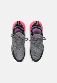 Nike Sportswear - AIR MAX 270 - Tenisky - smoke grey/hyper pink/black/white - 3