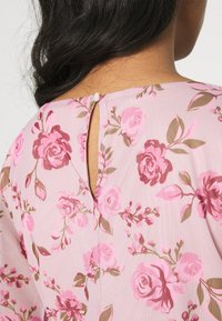 Vila - VIMIRANDA - Print T-shirt - cream pink/rose - 5