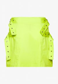 The Ragged Priest - SKIRT SIDE BUCKLES - Mini skirt - lime - 1