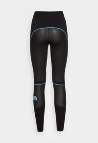 MCM - WOMENS LOGO KNIT LEGGINGS - Leggings - Trousers - black - 1