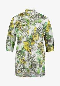 Betty Barclay - Button-down blouse - white/green - 3