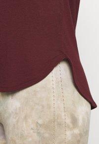Cotton On Body - ACTIVE CURVE HEM TANK - Top - mulberry - 4