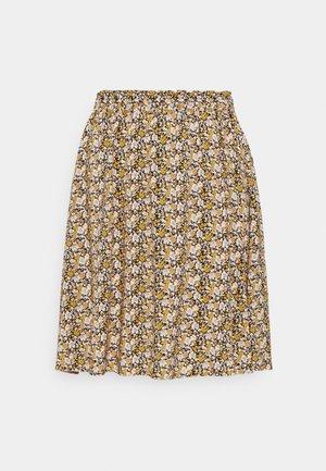 YASVICCO SKIRT - Mini skirt - black/vicco