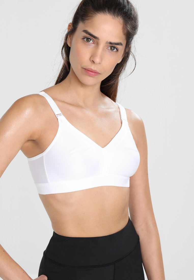 triaction by Triumph - WELLNESS  - High support sports bra - white