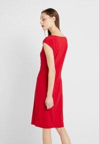 Lauren Ralph Lauren - MID WEIGHT DRESS - Shift dress - parlor red - 2