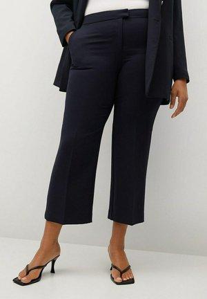 VERONICA - Trousers - dunkles marineblau