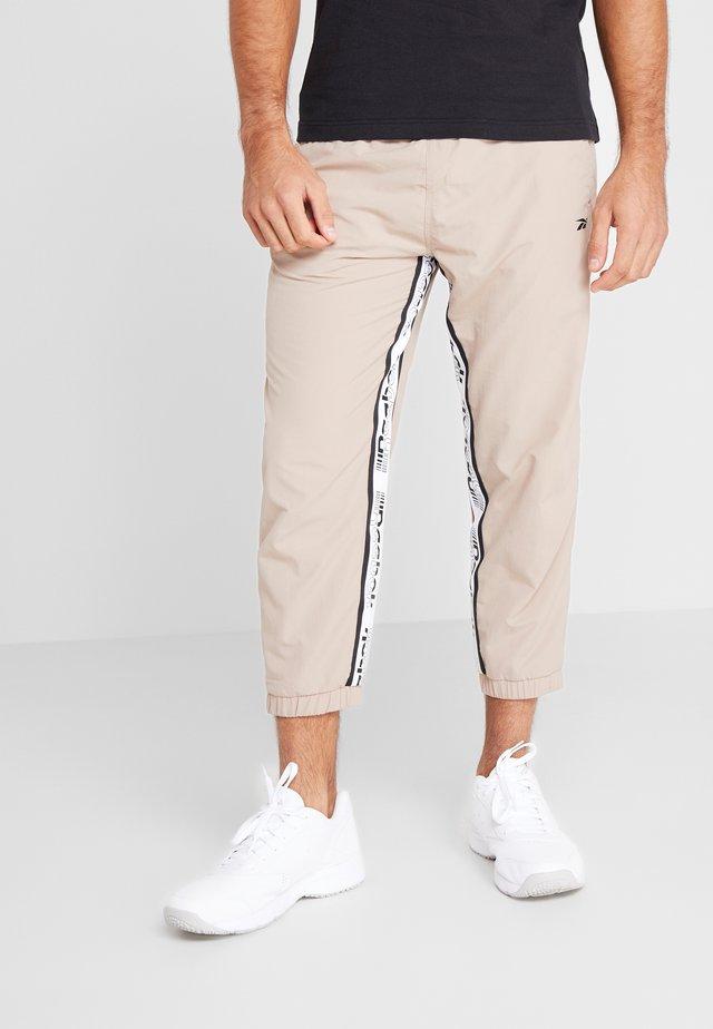 7/8 PANT - Spodnie treningowe - beige