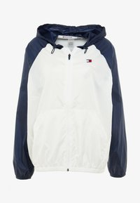 Tommy Hilfiger - BLOCKED WITH LOGO - Vindjacka - white - 6