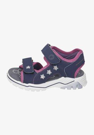 Walking sandals - nautic/cassis