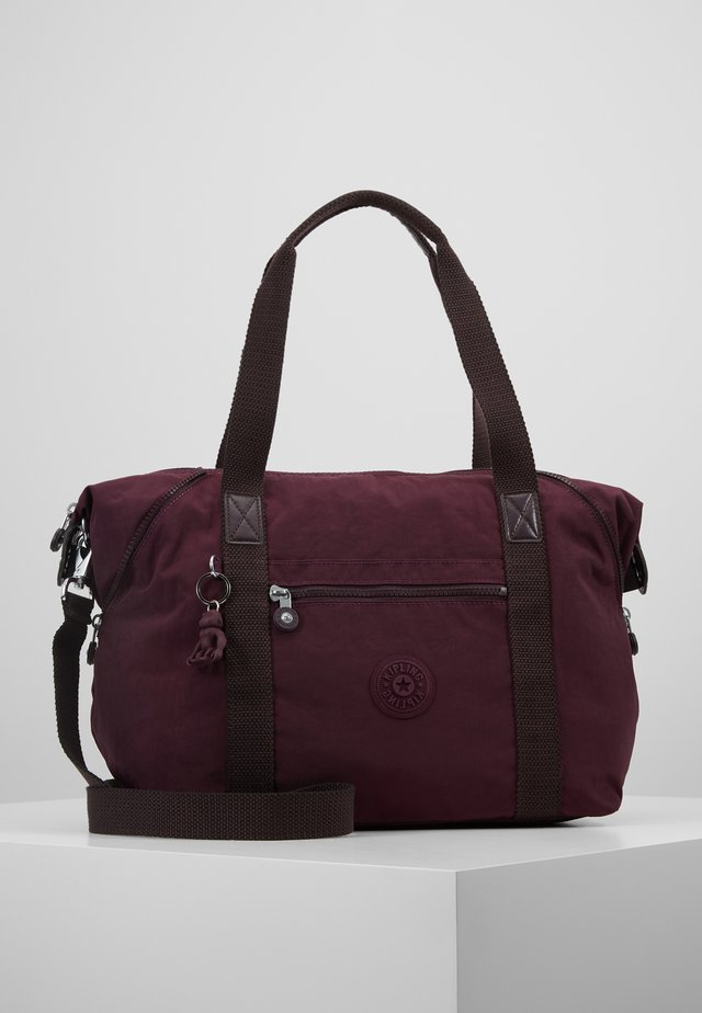 ART - Tote bag - dark plum