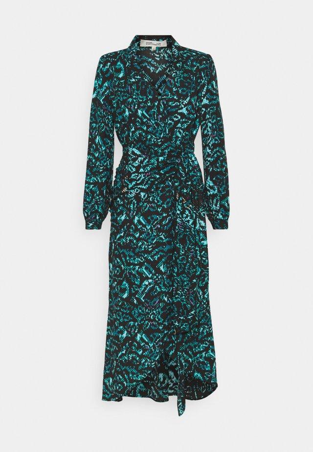 STELLA - Korte jurk - dark green