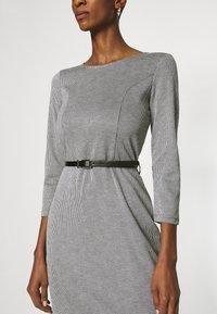 Anna Field - Shift dress - black/white - 3