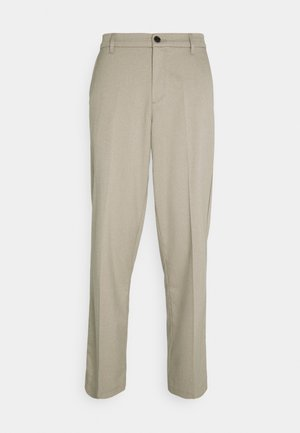 PAUL BRUSHED PANTS - Tygbyxor - beige