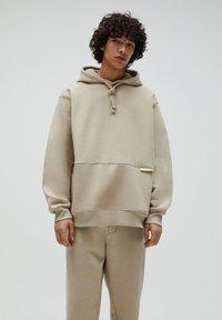 PULL&BEAR - Hoodie - beige - 0