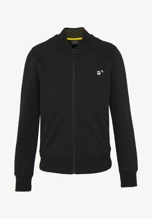 BOMBER - Zip-up hoodie - black