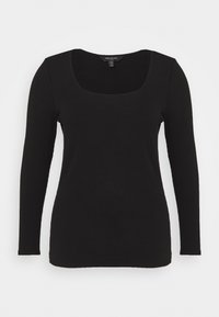 Forever New Curve - BRENNA SQUARE NECK  - Long sleeved top - black - 0