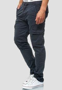 INDICODE JEANS - BROADWICK - Cargo trousers - navy - 3