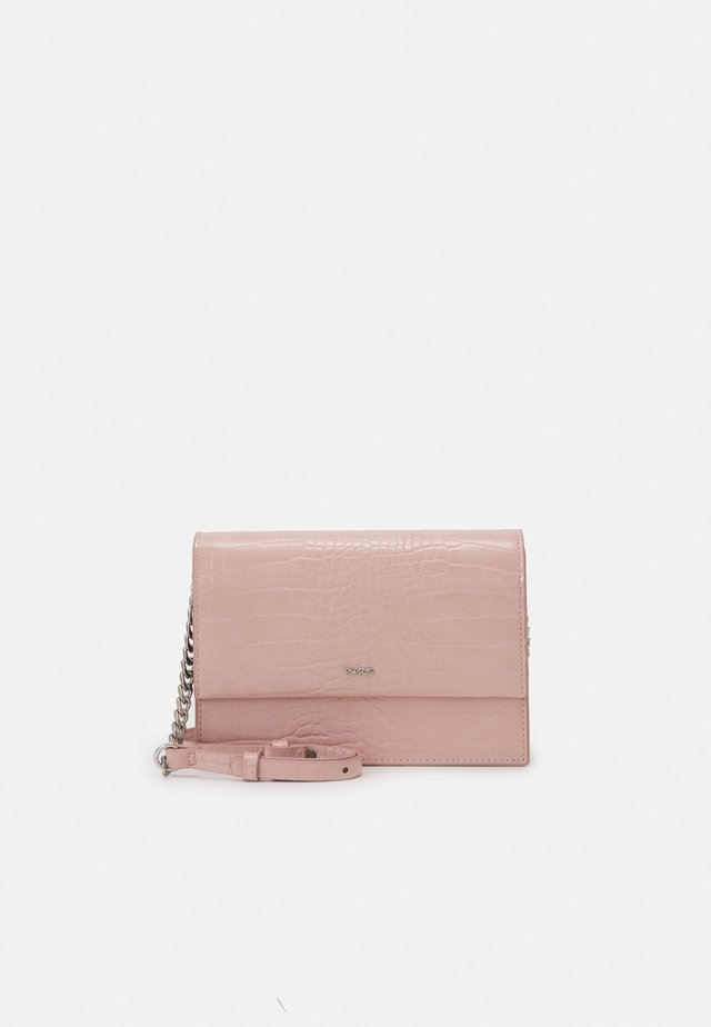 CROSSBODY BAG HAPPY - Schoudertas - pink