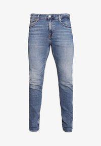 Calvin Klein Jeans - SLIM TAPER - Slim fit jeans - dark blue - 4