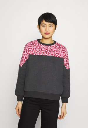 CREW - Mikina - grey heather