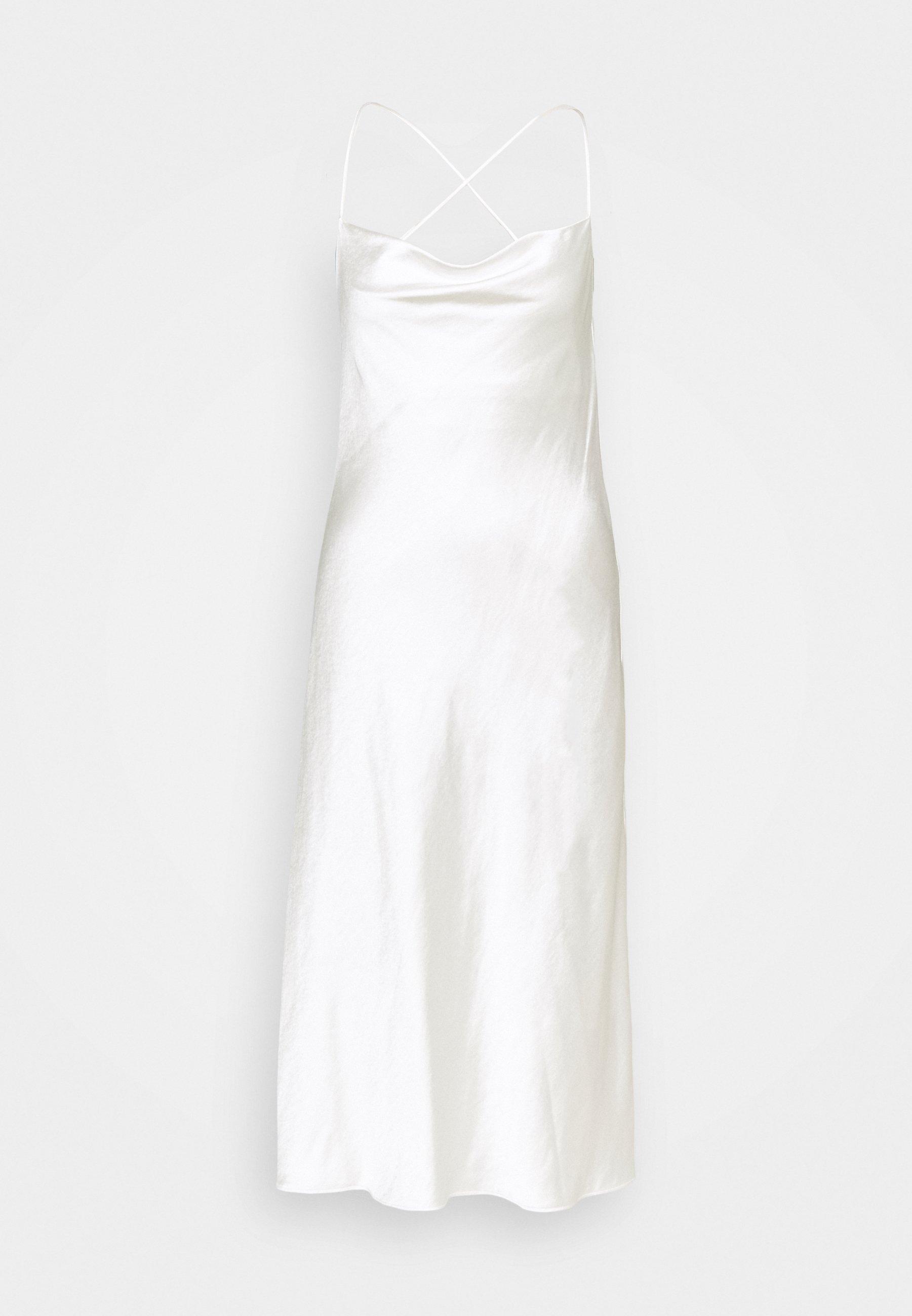Donna CROSS BACK COWL BIAS SLIP - Vestito elegante