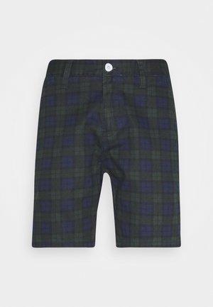 SMITHCHECK - Shorts - khaki/navy