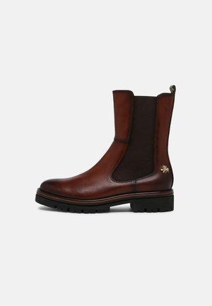 BY GUIDO MARIA KRETSCHMER - Platform ankle boots - cognac