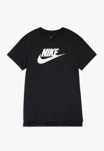 BASIC FUTURA - Print T-shirt - black/white