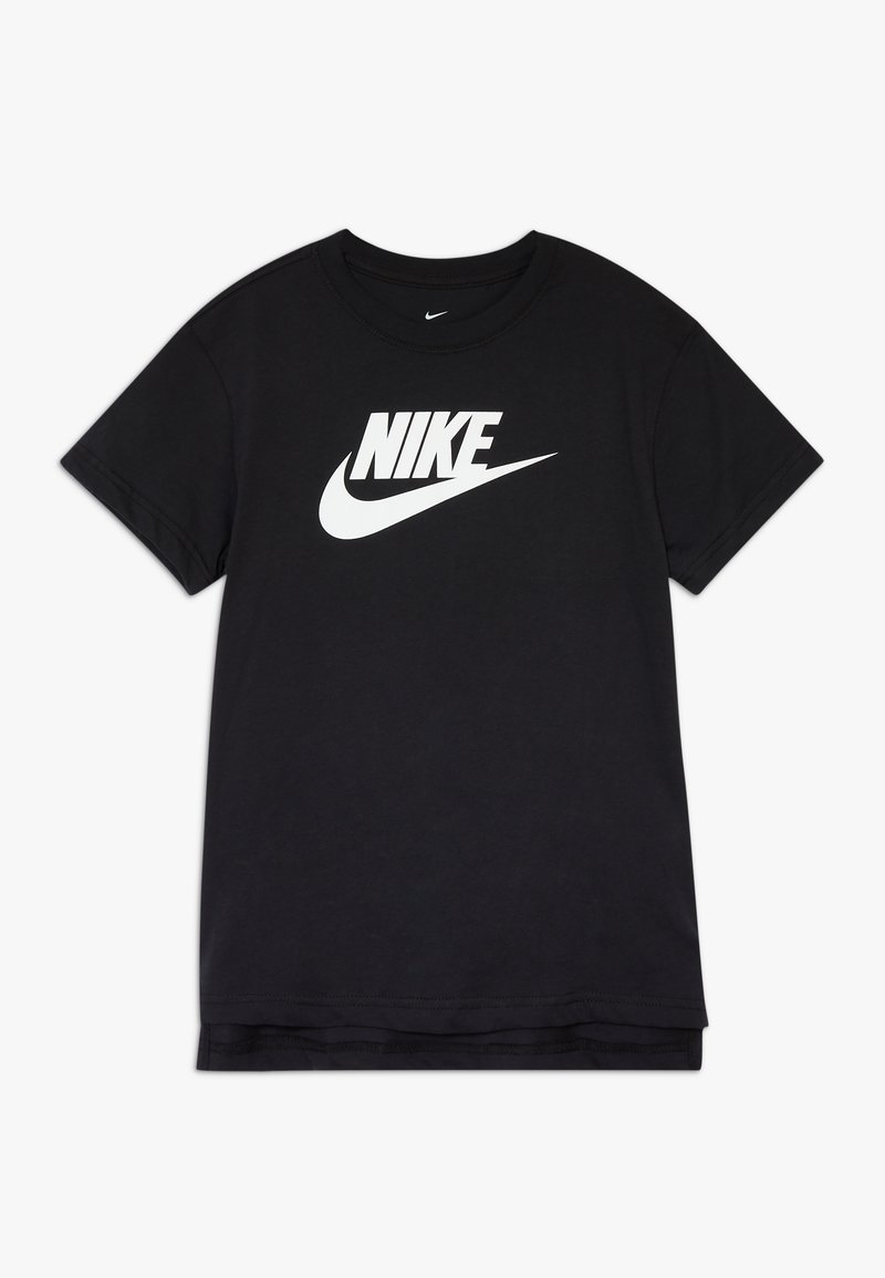 Nike Sportswear - BASIC FUTURA - Camiseta estampada - black/white