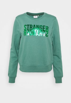 ONLVILLA LIFE  - Sweatshirt - blue spruce/stranger