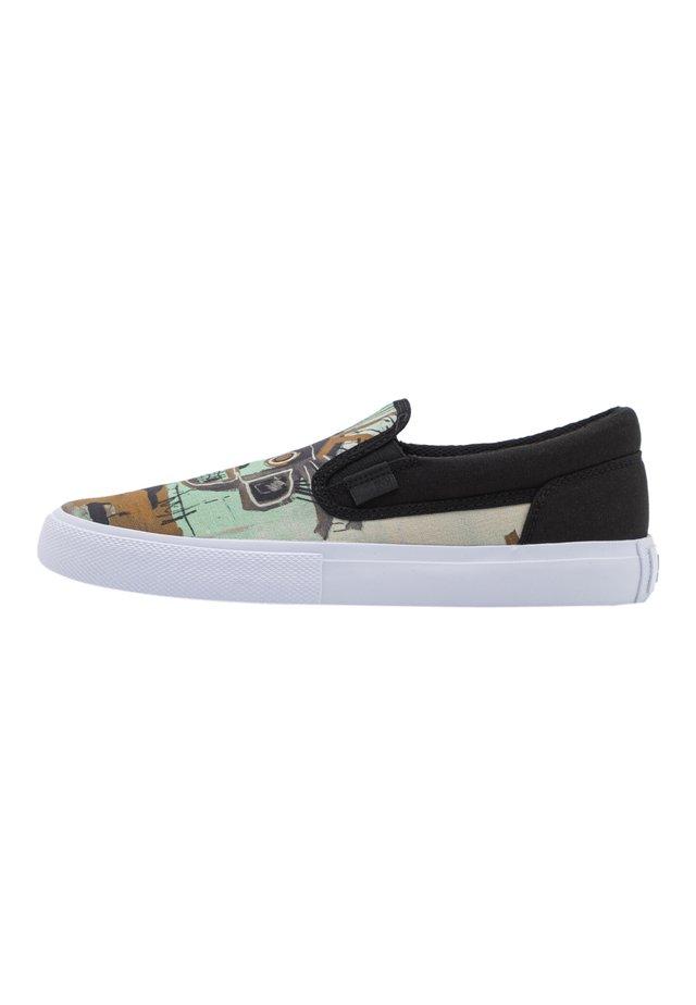 BASQ MANUAL - Sneakersy niskie - black