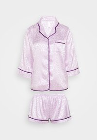 Wolf & Whistle - TRACY SLEEP SHIRT SHORT SLEEVED SHORTS  - Pyjamas - lilac - 3