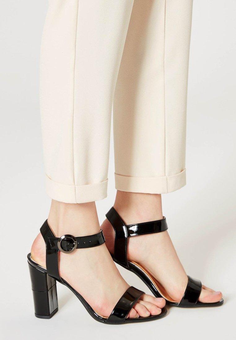 usha - Sandály na vysokém podpatku - black