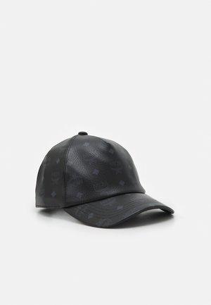 CLASSIC CAP IN VISETOS - Kšiltovka - black