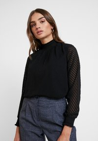 ONLY - ONLNEW KAYLA - Blouse - black - 0