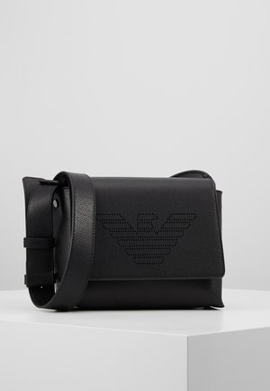 GRENETTE SUSTAINBLE  - Across body bag - nero