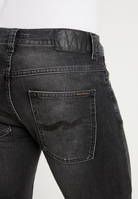 Nudie Jeans - GRIM TIM - Vaqueros slim fit - concrete black - 3