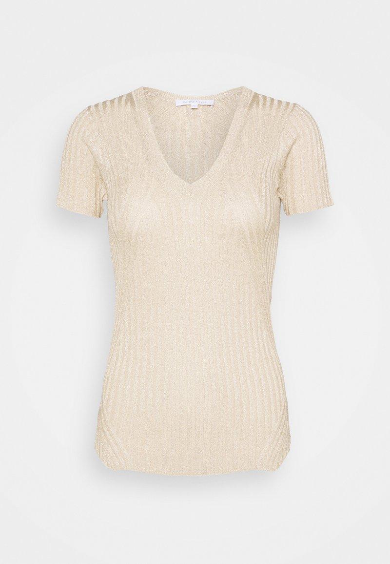 Patrizia Pepe - MAGLIA - Jednoduché triko - beige