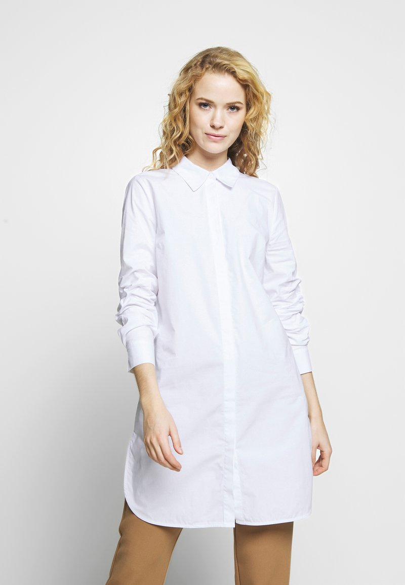 one more story - BLOUSE - Button-down blouse - white