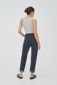PULL&BEAR - MOM - Jeans relaxed fit - black - 2