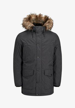 JJSKY JACKET - Winter coat - dark grey melange