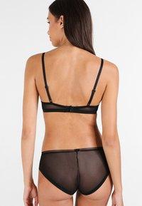 Calvin Klein Underwear - UNLINED - Triangle bra - black - 2