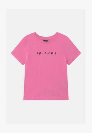 WARNER BROS FRIENDS GIRLS  - Print T-shirt - pink