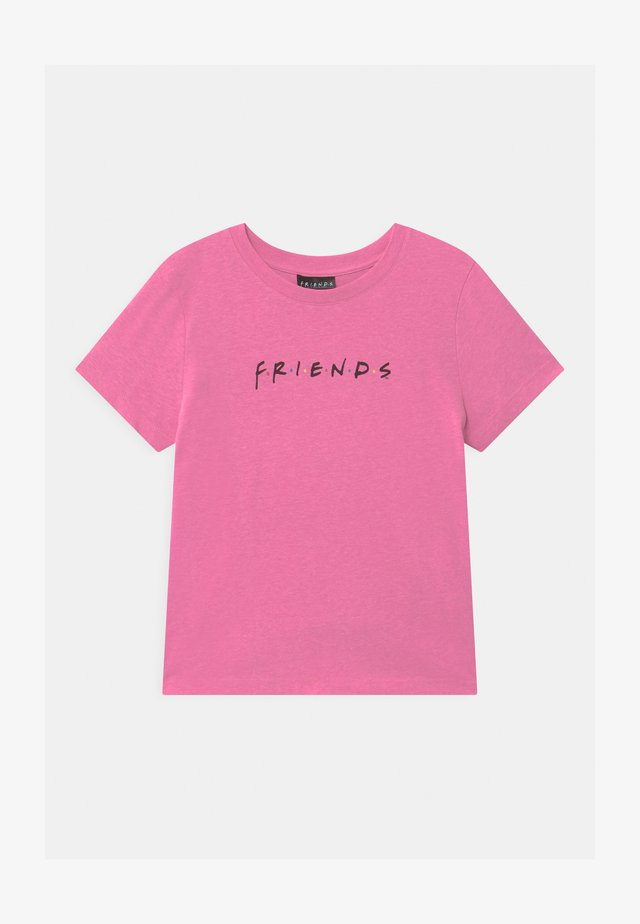 WARNER BROS FRIENDS GIRLS  - Printtipaita - pink