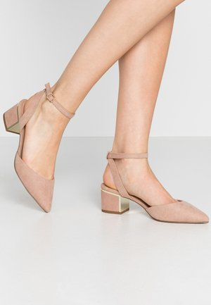 WIDE FIT  - Classic heels - oatmeal